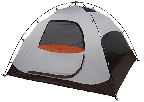ALPS Mountaineering Meramac 4-Person Tent, Sage/Rust