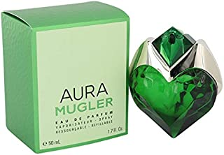 Mugler Aura by Thierry Mugler 1.7 oz Eau De Parfum Spray Refillable for Women