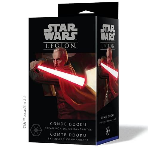 Fantasy Flight Games- Star Wars Legion - Conde Dooku, Color (SWL45ES) ,...