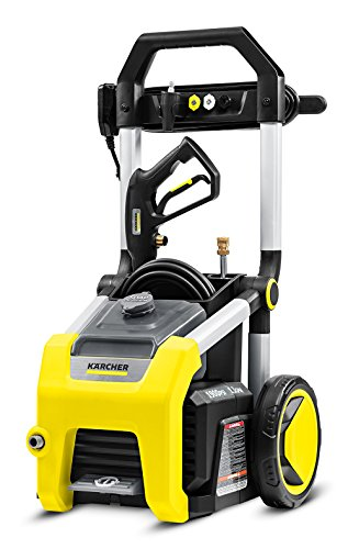 Karcher K1900 Electric Power Pressure Washer 1900 PSI TruPressure, 3-Year Warranty, Turbo Nozzle Included