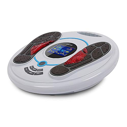EMS & TENS Electric Foot Massager- Foot Circulation Machine, Foot Energizer-Relieve Feet, Legs & Ankles Pain, 99 Intensity Levels and 25 Different Massage Modes