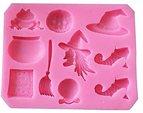 Molde de silicona para tartas de Philip Stuart, 3D Diy postre Mousse Fudge Chocolate molde donut bandeja para hornear, utilizado para decoración temática de la torta de Navidad