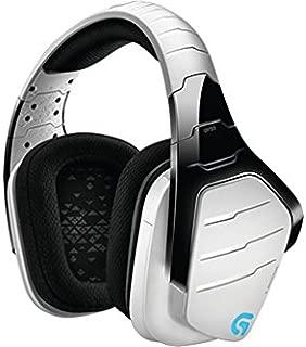 Logitech G933 Artemis Spectrum Wireless Gaming Headset, DTS Headphone:X 7.1 Surround Sound, 40mm Pro-G Drivers, 2.4 GHz, Audio Jack, Lightsync RGB, G-Keys, PC/Mac/Xbox One/PS4/Nintendo Switch - White