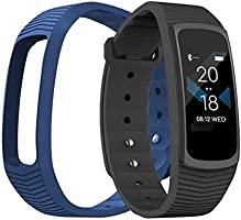 Exceed Smart Watch for Apple ios And Android Fitness Tracker Heart Rate Monitor IPS Screen 3ATM- Black