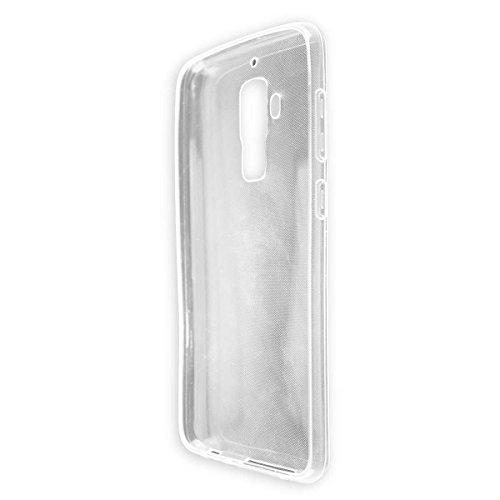 caseroxx TPU-Hülle für HOMTOM S8, Tasche (TPU-Hülle in transparent)