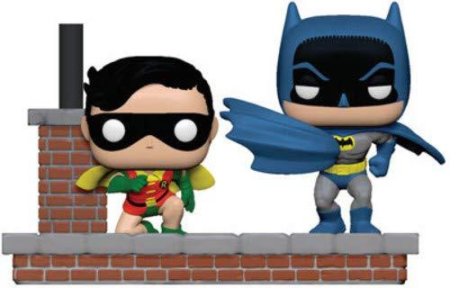 Funko- Pop Vinyl: Comic Moment 80th: Look Batman and Robin (1964) Figura de Vinilo, Multicolor (37256)