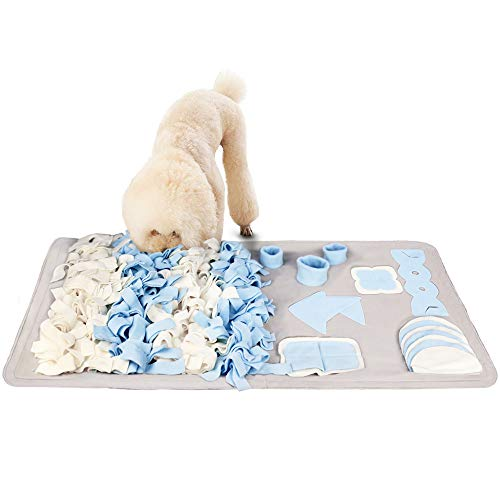 Snuffle mats are great for disabled dog owners