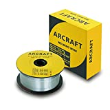 ARCRAFT Flux Core Welding Wire .035, E71TGS, 2-Pound Spool Carbon Steel Gasless Flux Cored Welding Wire
