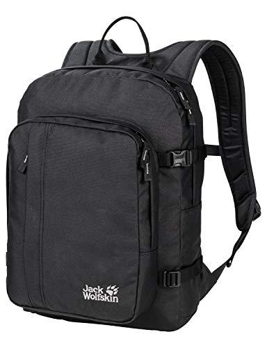 Jack Wolfskin Campus Bookpack Rucksack, Black, ONE Size