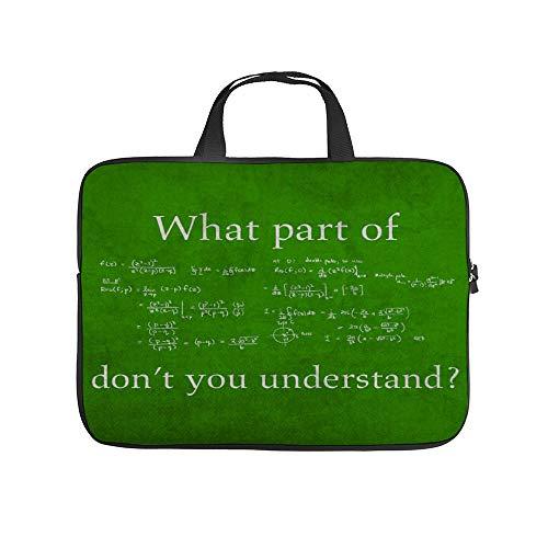 Welk deel Begrijp je niet Math 10 Inch Laptop Sleeve Case Beschermende Cover Draagtas Voor 9.7