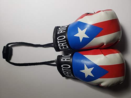 Rainbow Trading Puerto Rico Mini-Boxhandschuhe, Auto-Rückspiegel, Büro, Heimdekoration