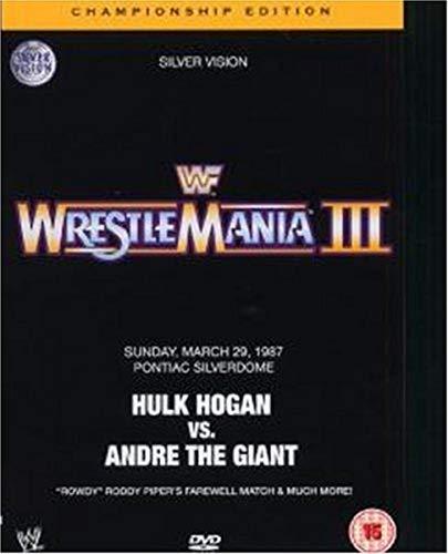 WWE Wrestlemania III - Championship Edition (2 DVDs) [Reino Unido]