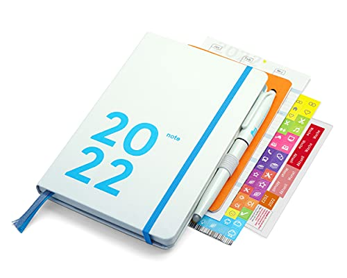 weekview compact note 2022 Premium - white edition - A6+ (12x18cm)