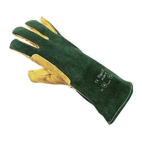 Honeywell 2000042–10 Gants de soudage Plus – Vert (Lot de 10)