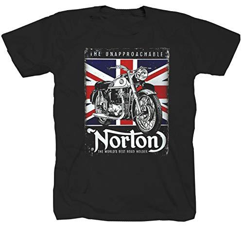 Norton Engelland zwart T-shirt