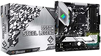 ASRock B550M Steel Legend AM4 AMD Micro ATX Motherboard