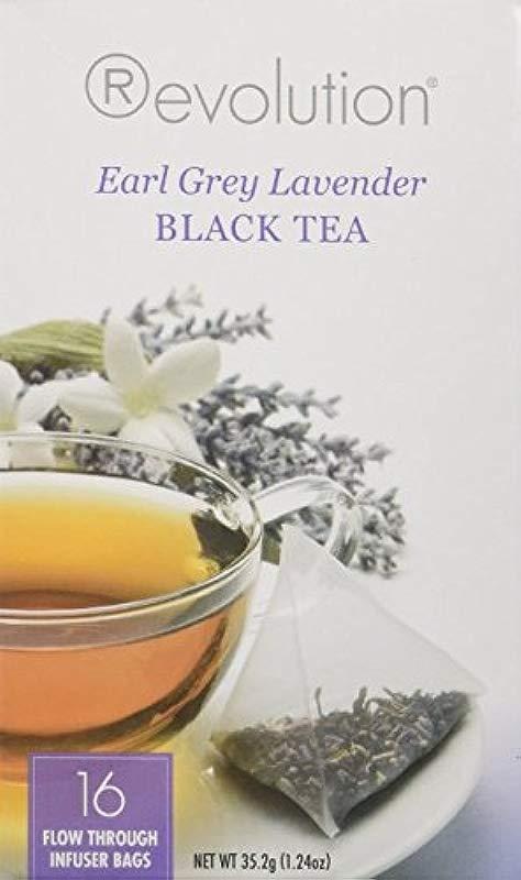 Revolution Tea Earl Grey Lavender Black Tea 16 Count 2 Pack