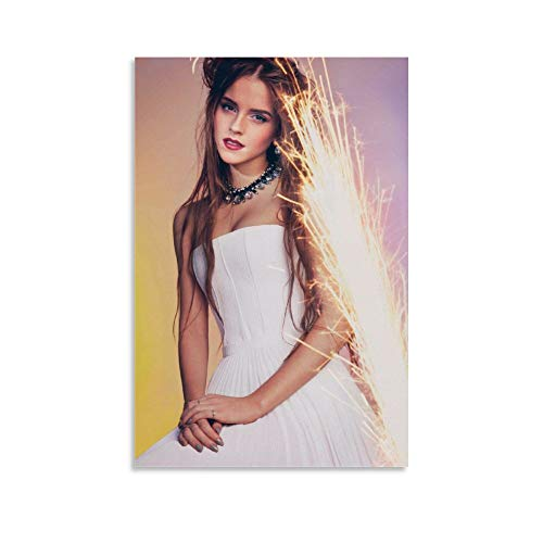 STTYE Posters for Boys Room Emma Watson Aesthetics Art Photo Poster Home Decoration Gifts 12x18inch(30x45cm)