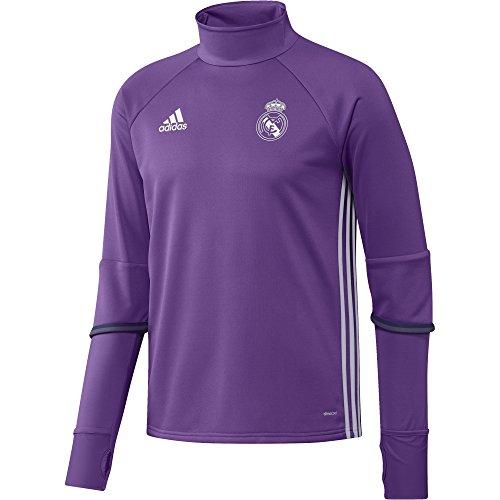 adidas Herren Real Trainingsshirt, Ray Purple/Crystal White, M