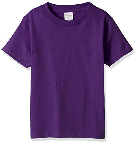 プリントスター 半袖 5.6オンス へヴィー ウェイト Tシャツ 00085-CVT キッズ パープル 日本サイズ 160cm