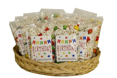 Discover Bargain Happy Birthday Individual Popcorn Bag (100)