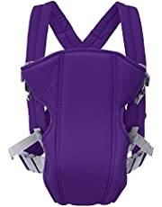 Baby Carrier Backpack Newborn Wrap Front Seat Infant Breathable Front Back Carrying Gift for New Mother and Nerborn(Purple)