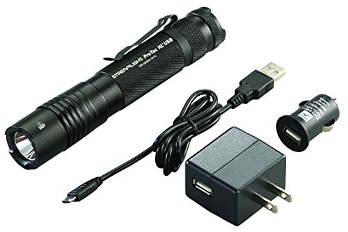 Streamlight 88054 ProTac HL USB 1000 Lumen Professional Tactical Flashlight...
