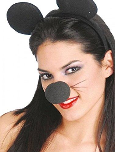 ONE Dozen (12) Classic Black Foam NOSES ~ Reindeer ~ Teddy Bear ~