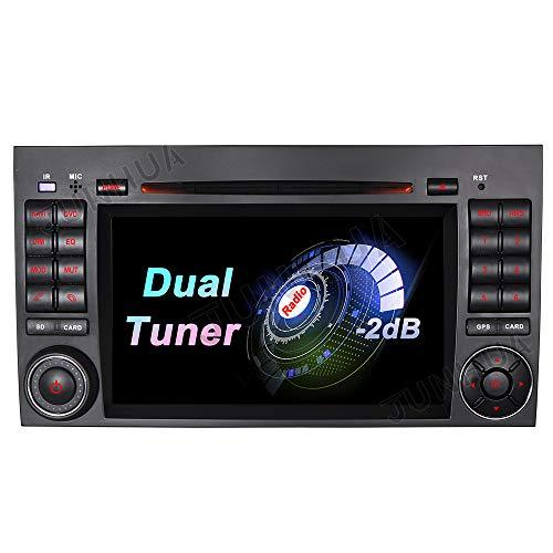 Dual-Tuner Autoradio Android Auto 10+CARPLAY Rohm-DSP 2G+32GB Quad-Core 7