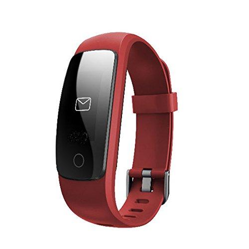 Letsfit Fitness Tracker HR, activiteitstracker met hartslagmeter, IP67 waterdicht, stappenteller, calorieën en stappenteller, horloge voor Android en iOS
