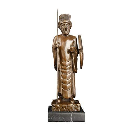 DAJIADS Figur,Statue,Statuen,Statuette,Skulpturen,Antiken Europäischen Stil Bronze Iranischen Abbildung Statue Für Fenster Anzeige Bücherregal Klassische Dekoration