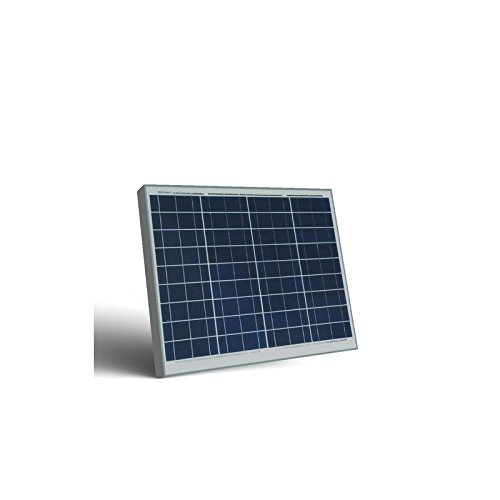 PuntoEnergia Italia SR60-P - Panel solar fotovoltaico SR 60 W 12 V policristalino PV sistema camper barco Chalet