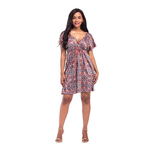 Multicolor Talla unica Dayka Trade Conjunto de vestido percha y bolso Cart/ón aglomerado
