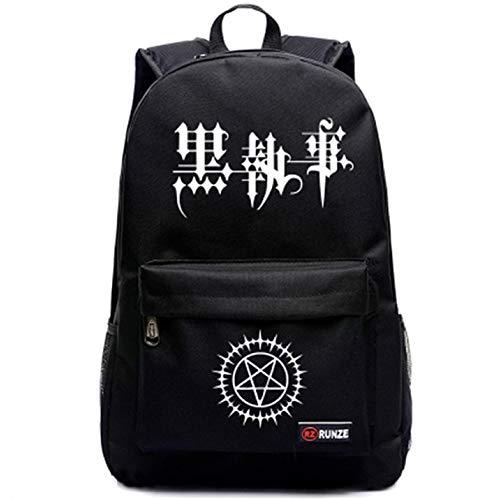 yoyoshome Luminous Anime Black Butler Cosplay mochila mochila bolso de escuela