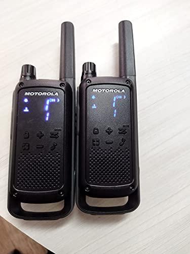 License Free WALKIE Talkie Motorola T-82-2 Pieces