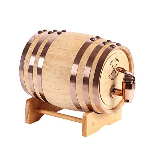Mustbe Strong Roble Personalizado Crianza En Barrica, Whisky Barril Dispensador De Edad Su Propia Cerveza Vino Bourbon Tequila Ron Barril Brewing Barril,0.75L