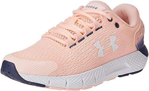 Under Armour Charged Rogue 2, Zapatillas para Correr para Mujer, Peach Frost 600 Color Blanco, 38.5 EU