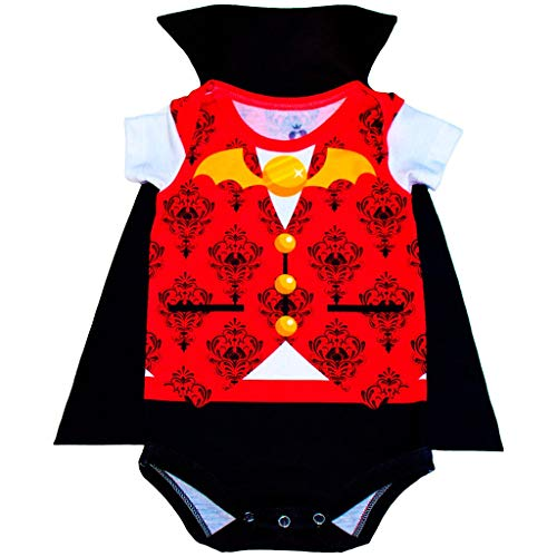 Body Bebê Fantasia Drácula - Isabb