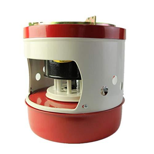 HomeDecTime Portable Mini Combustible Liquide Camping Essence Poêles Kérosène Brûleurs Diesel Kérosène Poêle à Pétrole 10Wicks