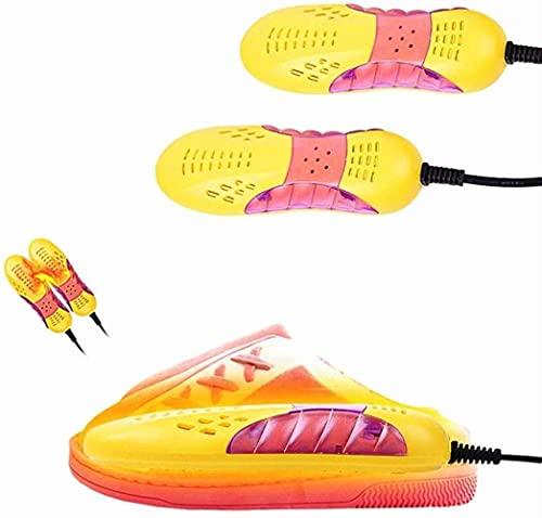 Asciugascarpe Portatile Elettrico - Asciugascarpe Portatile 220V Protezione elettrica per la Luce del Piede Deodorante per Stivali Deumidificatore per Scarpe Dispositivo di deumidificazione per Scarp