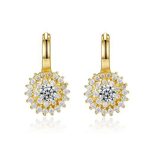 Aretes para Mujer Pendientes de Perlas, Pendientes Temperamento de Plata de Pulsera for Mujer, Dos Maneras de Usar, circón y Perlas, Regalos de la joyería Elegante Pendientes