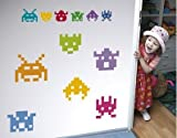 """Wandtattoo """"Space Invaders"""" bei Amazon"""