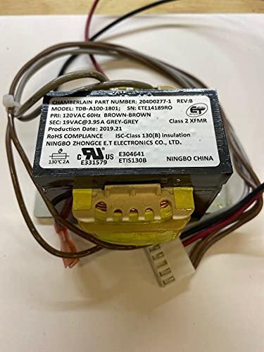 1 Pc of 204D0277-1 19 VAC 3.95A WiFi Transformer Garage Door Opener
