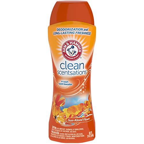 Arm & Hammer in-Wash Scent Booster, Sun-Kissed Flower, 24 oz (6 Pack)