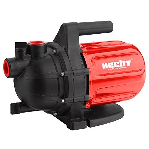HECHT Comfort Gartenpumpe 3080 Kreiselpumpe 3200 l/h (Leistung 800 W, Maximaler Pumpen Druck: 3,8 bar, Maximale Selbstansaughöhe: 8 m)