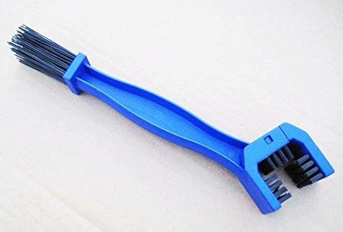 LINSUNG Auto-Motorrad-Fahrrad-Kette Reinigungsbürste bequem tragbaren Sehr sauber (blau)