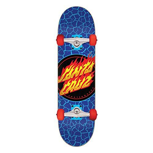 skateboard santa cruz Santa Cruz Flame Dot Micro Factory - Skateboard completo