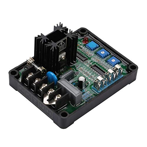 Jadpes Automatische spanningsregelaar van de generator, GAVR-8A Universal AVR generator automatische spanningsregelaar module overspanningsbeveiliging voor thuis en op kantoor