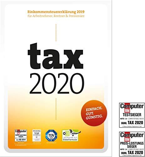 Tax 2020 (für Steuerjahr 2019|Disc in Frustfreie Verpackung)