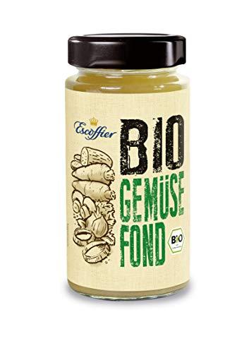 Escoffier Bio Gemüse-Fond, 3er Pack (3 x 400 g)